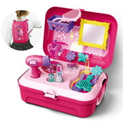 Girls Pretend Play Makeup Set for Children, Kids Make it Up for Little Girls Princess Toys for Toddlers Girl 2 3 4 5 6 Year Old