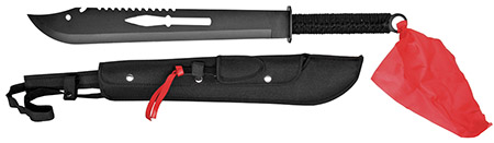 "27"" Ninja Machete w  Throwing Knife by"