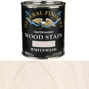 General Finishes, Semi-Gel Wiping Stains, Water Based, Whitewash, Pint