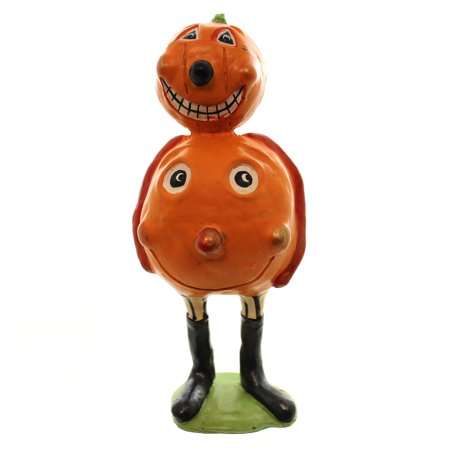 Halloween PUMPKIN JACK Polyresin Figurine Primitive - Just Jack Halloween London