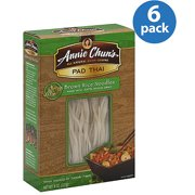 Annie Chun's Pad Thai Brown Rice Noodles, 8 oz, (Pack of 6)