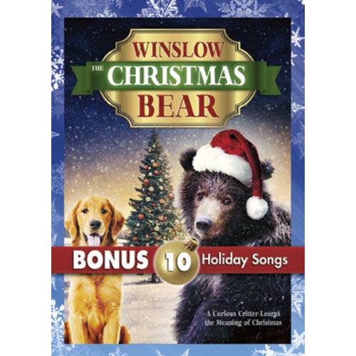 Winslow The Christmas Bear (With 10 Christmas MP3s)