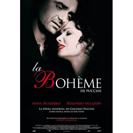 La Boheme  2008  27X40 Movie Poster  Spanish