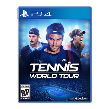Tennis World Tour, Maximum Games, PlayStation 4, 814290014315