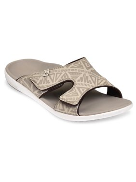 Spenco Tribal - Men's Slide Sandal - Oyster Grey