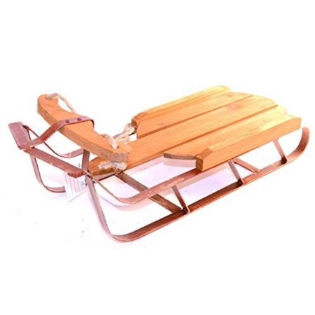 darice 2515 vintage wooden sled christmas decoration large 20x7x6in - Wooden Sled Decoration Christmas