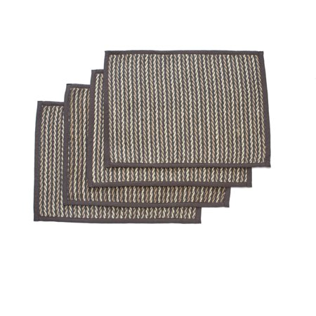 Better Homes And Garden Twisted Vine Jute Placemat Set Of