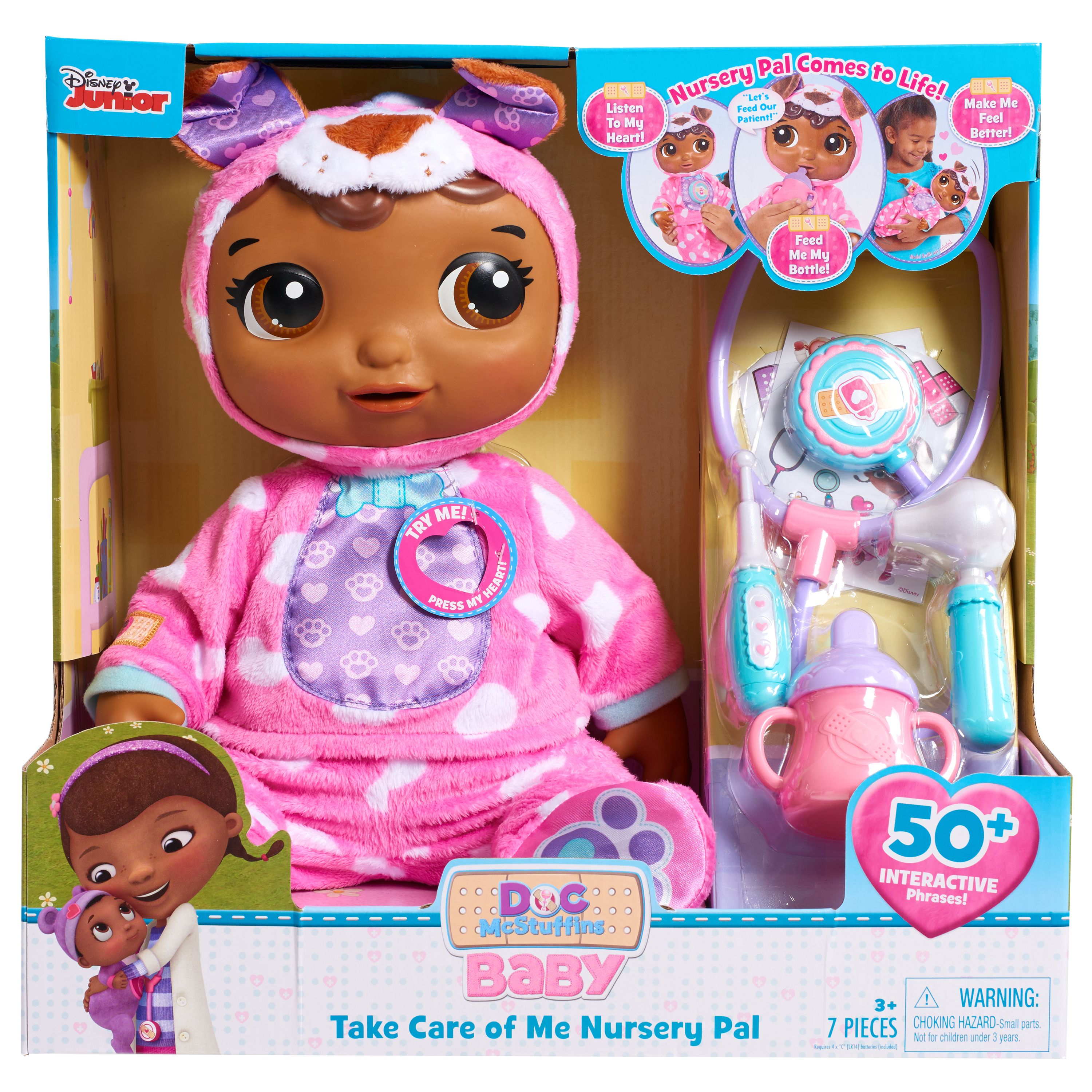 Doc McStuffins Take Care of Me Nursey Pal