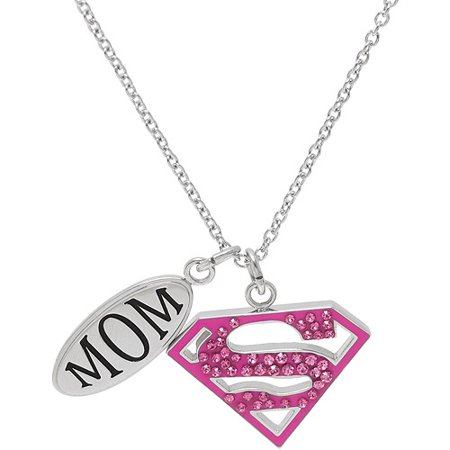 Connections From Hallmark Dc Comics Stainless Steel Mom And Pink