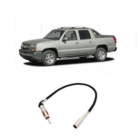 Chevy Avalanche 2002-2006 Factory Stereo to Aftermarket Radio Antenna