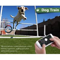 WALFRONT 2-in-1 Wireless Dog Fence System & Dog Training Collar Pet Fence System Kit