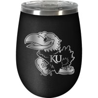 Kansas Jayhawks 12oz. Stealth Wine Tumbler - No Size