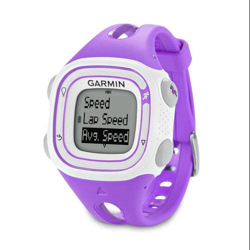 Refurbished Garmin Forerunner 10 Violet & White GPS-Enabled Sports Watch