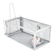 One Door Animal Trap Steel Cage for Small Live Rodent Control Rat Squirrel