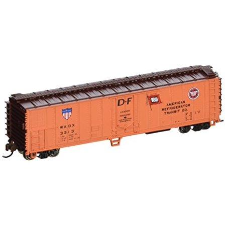 Bachmann 17955 N Scale ACF 50' Steel Reefer American Refrigerator Transit Company Car 50' Express Reefer Car