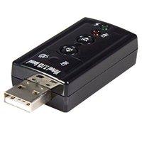 startech.com virtual 7.1 usb stereo audio adapter external sound card icusbaudio7