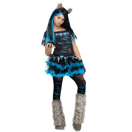 Wicked Wolfie Child Animal Costume](Zoo Animals Costumes)