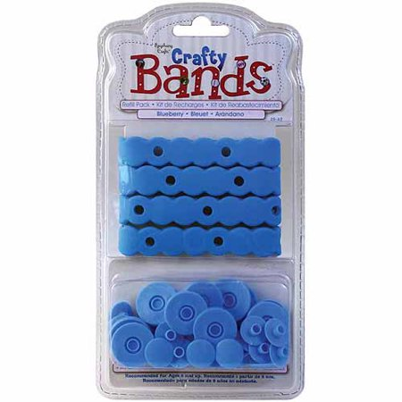 Epiphany Crafts Crafty Bands Refill, 4pk (Flash Card Rubber Bands)