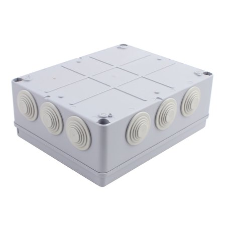 240x190x90mm Outdoor Waterproof Electronic Terminal Junction Box Cover Case - image 2 of 3