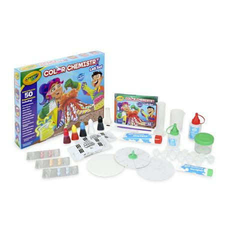 Crayola Color Chemistry Lab Set for Kids, Ages 7+ ()