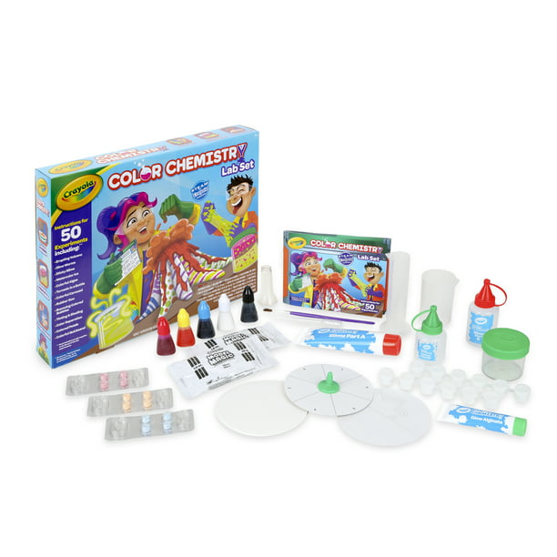 Crayola Color Chemistry Set for Kids, Gift for Boys and Girls Ages 7+ Child