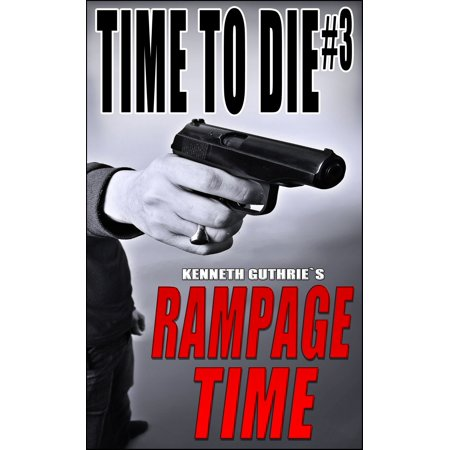 Time To Die #3: Rampage Time - eBook Electrodes in his groin, he awakes to find a selection of guns, his fat geezer boss in the cupboard and a cup of pink stuff marked drink me. That Texan Guy has another mission for Bob and, this time, there's no killing involved. Stop a fight? Easy. Stop to trained assassins? Difficult. Do it before the battery acid eats through his stomach? Ummm... We'll see. Time is of the essence. Time to die!This is part of a series of four books. All four can be found in Time To Die: The Collection. Please check at your favorite e-store to check if this powerhouse of pain is out and about!Please note that Time To Die #1: Brutal Limit is free.