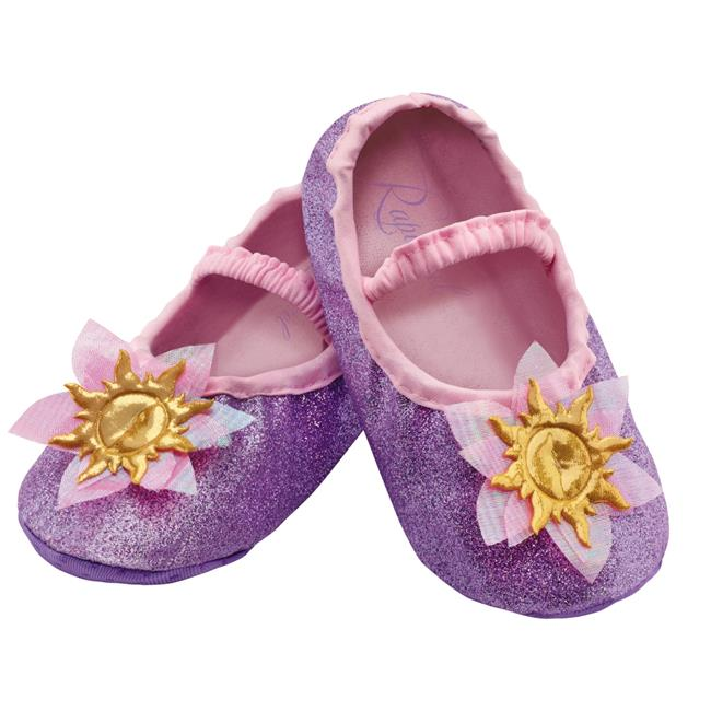 Morris Costumes DG83872 Rapunzel Toddler Slippers Costume