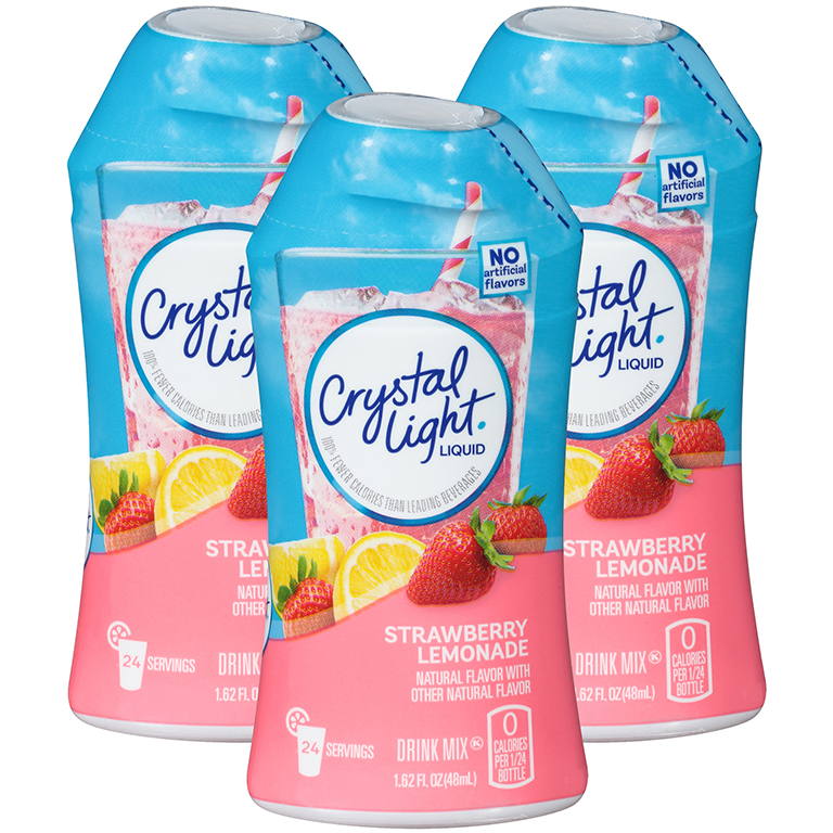 (6 Bottles) Crystal Light, Strawberry Lemonade, $1.84/Oz