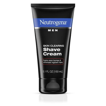 Neutrogena Men Skin Clearing Shave Cream, 5.1 fl. oz