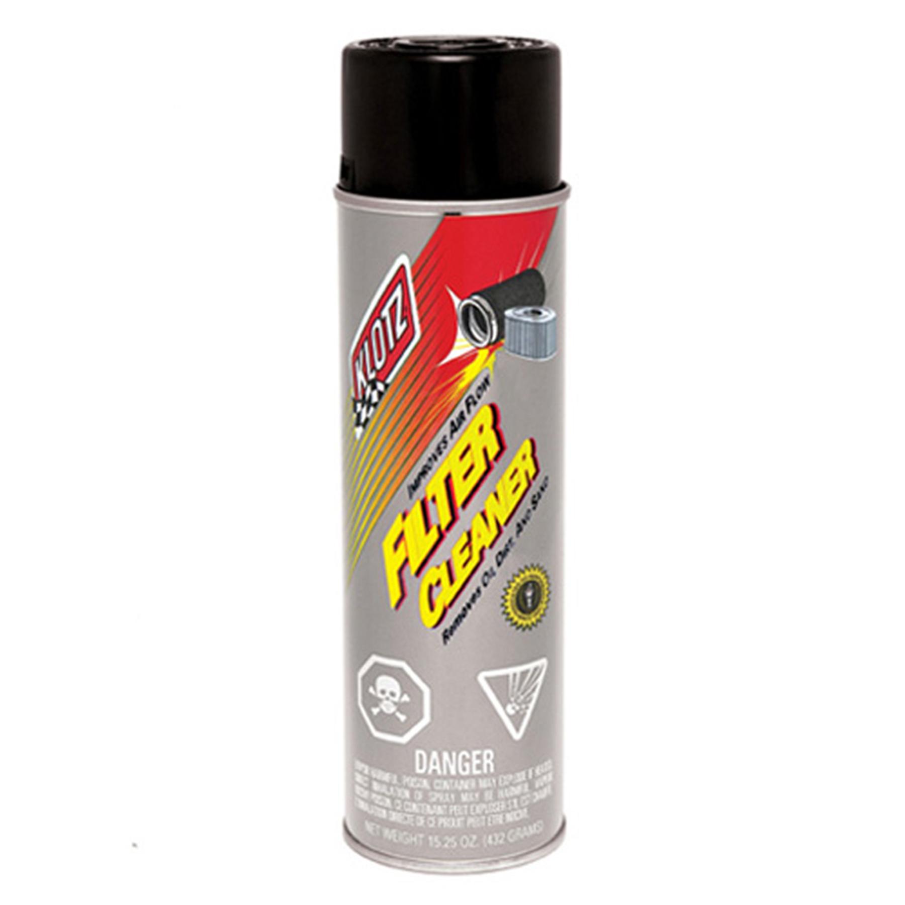 KLOTZ FILTER CLEANER (16 OZ)