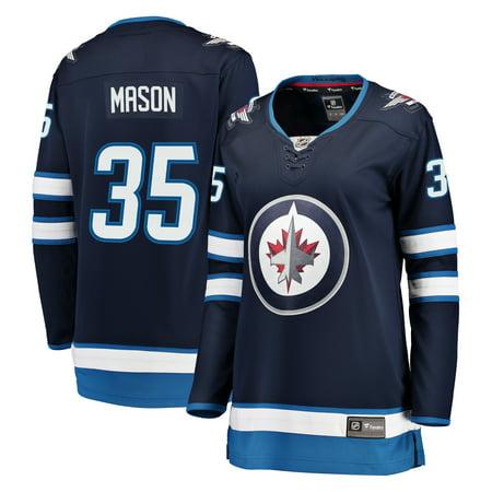 f57684579 Steve Mason Winnipeg Jets Fanatics Branded Women's Breakaway Player ...