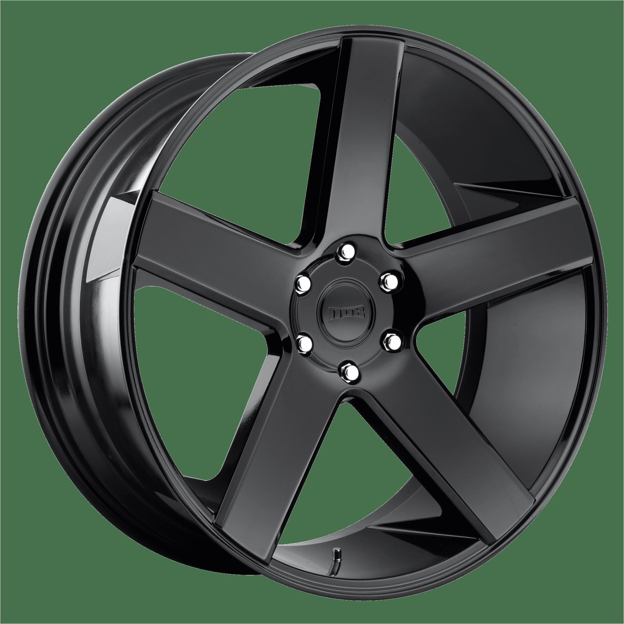 Dub Dc216 30x10 6x5 5 31mm Gloss Black Wheel Rim 30 Inch Walmart Com
