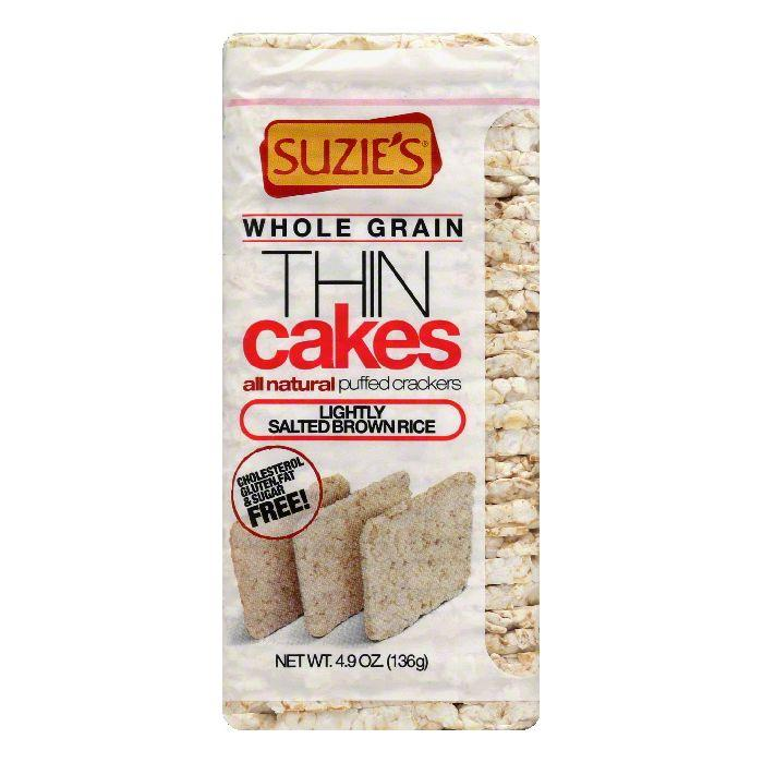 Suzies Lightly Salted Brown Rice Puffed Crackers, 4.9 OZ ...