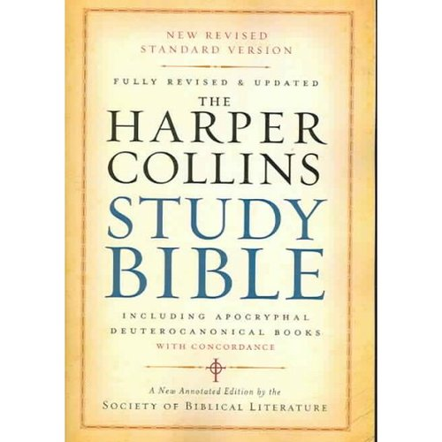 The HarperCollins Study Bible: New Revised Standard Version