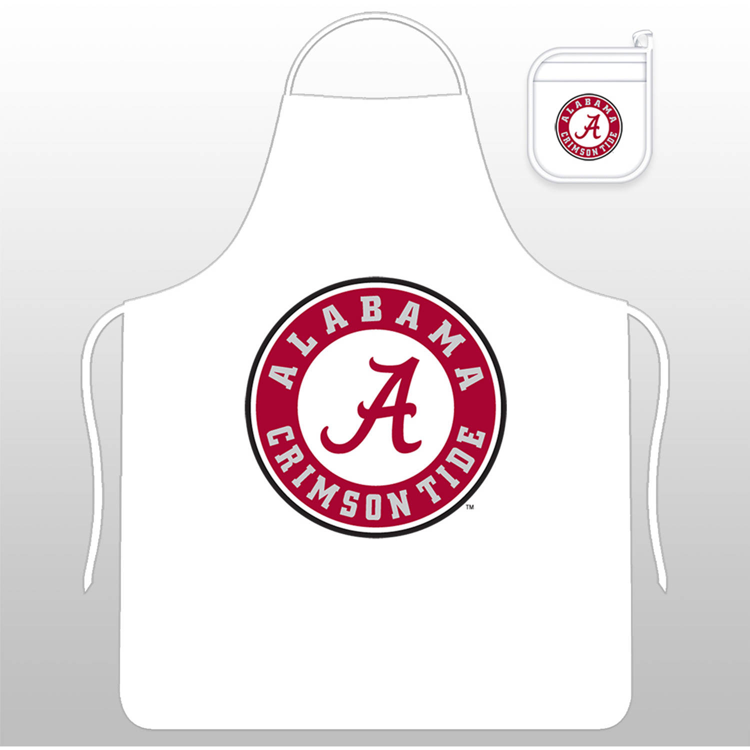 NCAA University of Alabama Tail Gate Kit with Apron and Mitt by Sports Coverage, Inc.