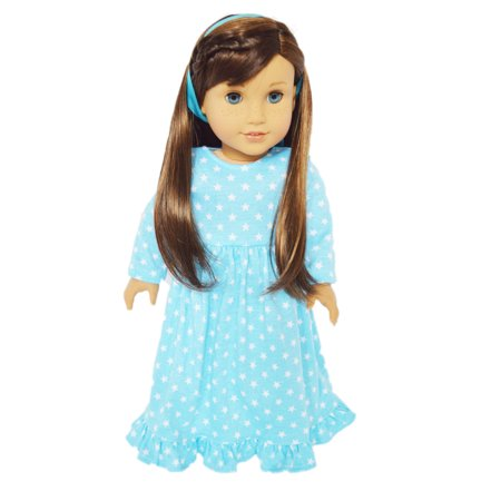 My Brittany's Blue Star Nightgown For American Girl Dolls ()