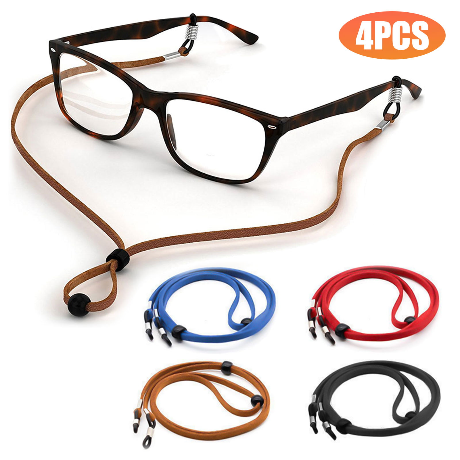Acrylic Chain Eyeglasses Chains Glasses Rope Sunglass Strap Neck Cord Adjustable