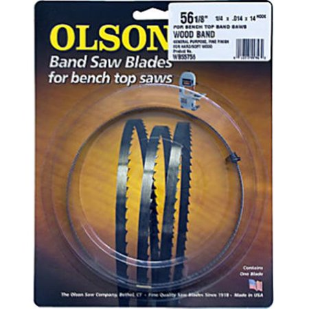 Bench-top Bandsaw Blade, .25 X 56-1/8