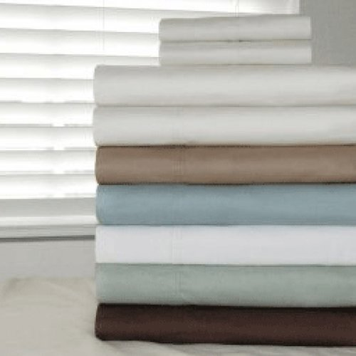 500 TC 100% Egyptian Cotton Deep Fitted Sheet Set