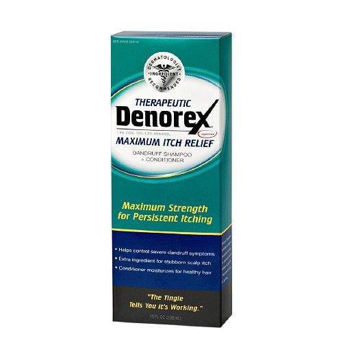 5 Pack - Denorex Dandruff Shampoo Conditioner, Maximum Strength 10 fl oz Each