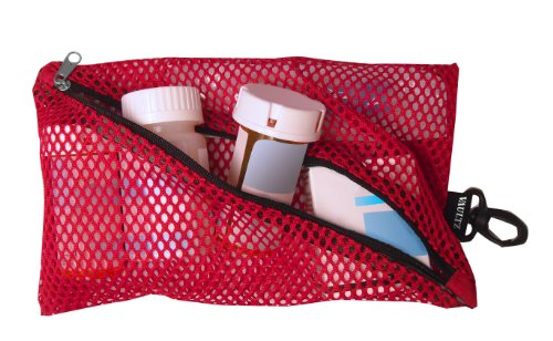 VAULTZ Mesh Storage Bags Assorted Colors and Sizes 4 Bags