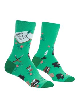c8d581b0e06 Product Image Sisterhood One Size Fits Most Green Ladies Crew Socks