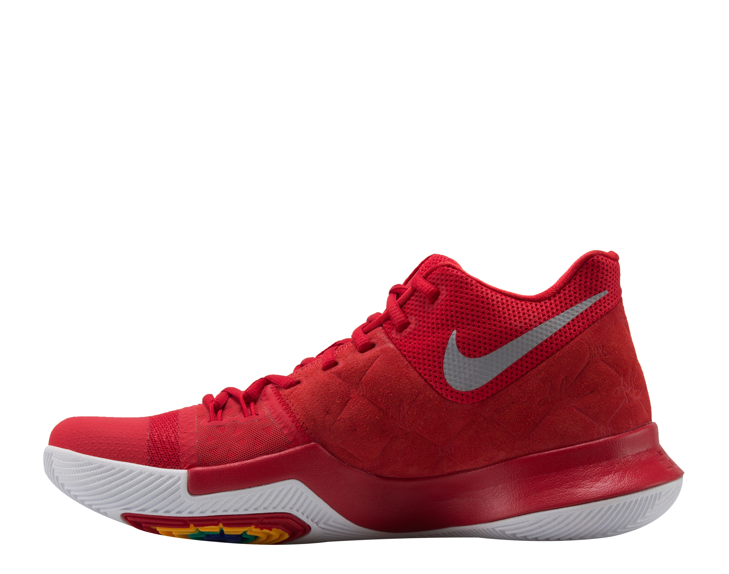 Nike Kyrie 3 University Red/Yellow Men's Basketball Shoes 852395-601