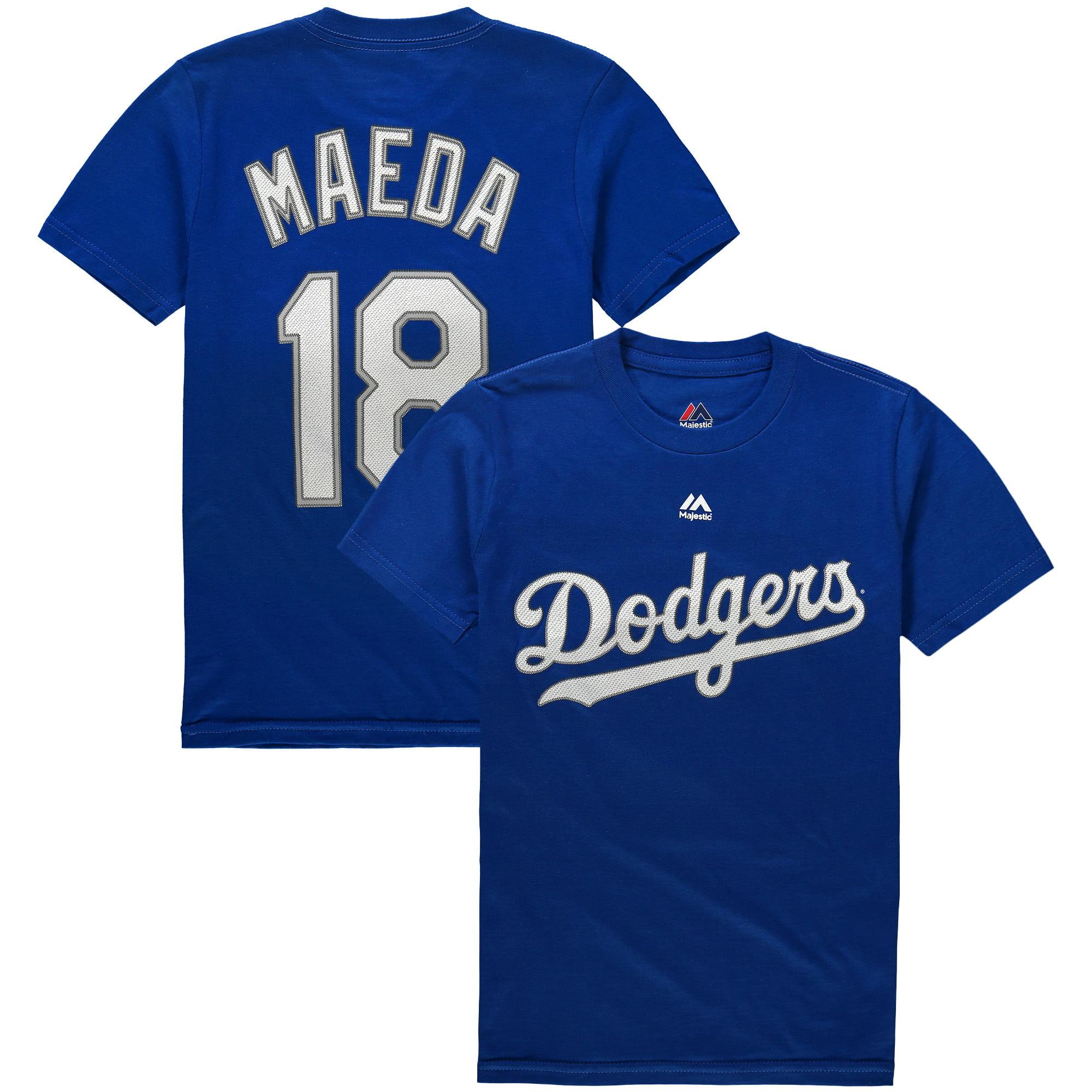 Kenta Maeda Los Angeles Dodgers Majestic Youth Name & Number T-Shirt - Royal