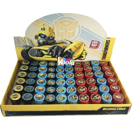 60pc BumbleBee Transformer Stampers Self-Inking Toys Birthday Party Favors for $<!---->