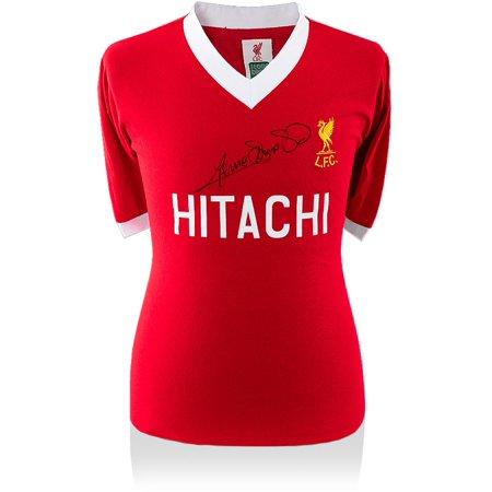 Memorabilia Autographed Jerseys - Graeme Souness Liverpool Autographed 1978 Hitachi Edition Jersey - ICONS - Fanatics Authentic Certified
