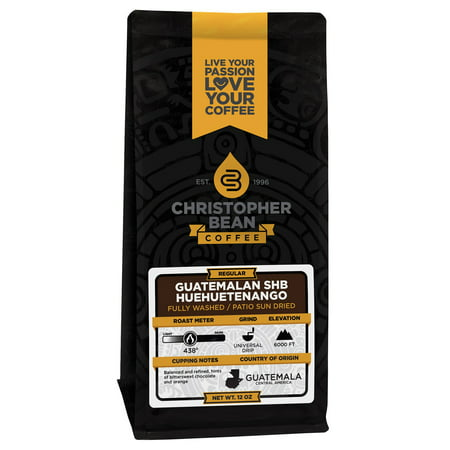 Guatemala Antigua Green Coffee - Guatemala Antigua Regular Whole Bean Coffee, 12 Ounce Bag