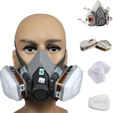 1pcs Gas Proof Active Carbon Mask - image 1 de 7