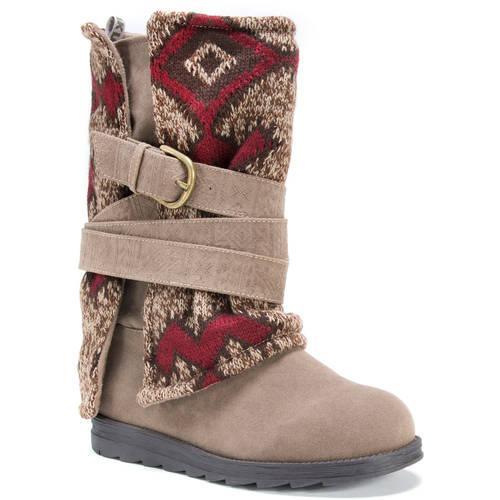 MUK LUKS Women's Nevia Boots - Walmart.com