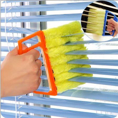 Blind Cleaner Tool,Mini Hand-held Cleaner,Mini-Blind Cleaner,Dirt Clean Cleaner,Venetian Blind Brush Window Air Conditioner Duster Cleaner Special
